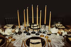 black and gold wedding theme we do weddings