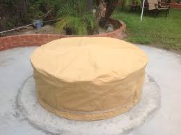 48 Inch Fire Pit by Fire Pit Covers Capcover