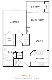 The Lenox Floor Plan Avana Lenox Apartments In Atlanta Greystar