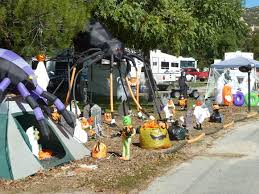 Creative Halloween Decoration Ideas Halloween At Silent Valley A Membership Campground Camping