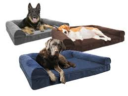 Plush Sofa Bed Furhaven Plush Sofa Pet Beds Your Choice