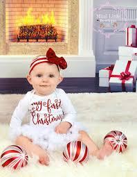 my christmas baby girl 20 adorable baby s christmas