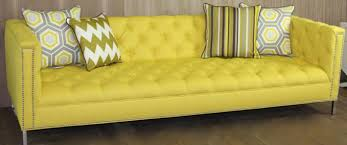 Modern Yellow Sofa Sofas Orange Sofa As Interior Design In Charming Room Playful