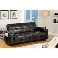 Sleeper Sofa Storage Furniture Of America Max Multi Functional Futon Sleeper Sofa With
