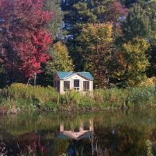 Backyard Screen House by Prefab Cabin Kits Cabin Kit Homes Prefab Guest Cottage