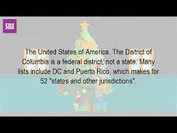 52 states of america list how many states are in the us 50 or 52 youtube