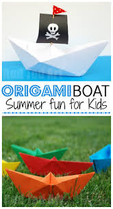 how to make a paper boat red ted art u0027s blog