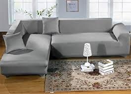 sofa bezug de getmorebeauty sofabezug aus elastischem stoff für 2 3