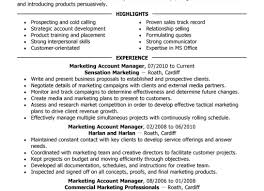 resume stunning account manager resume college resume example
