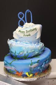 80th fish themed birthday cake xtra special cakes