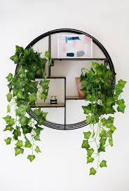 interesting design plant wall decor strikingly 3d artificial plant