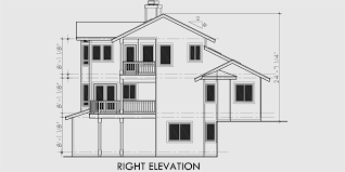house plans with a view floor plans with a front view house plans