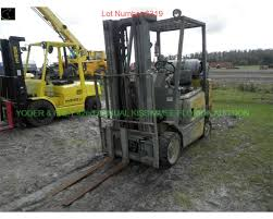 1998 yale 5021352 09 forklift sn e753043 lp gas 3 point mast 5k