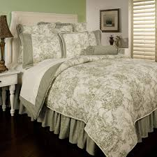Ideas For Toile Quilt Design Interior Country Bedding Sets Lostcoastshuttle