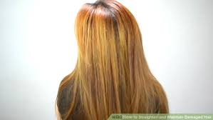 ideas for hairstyles for damaged edges how to straighten and maintain damaged hair 12 steps