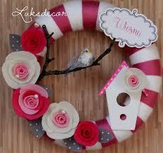 268 best yarn and felt wreaths images on felt wreath