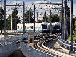 seatac light rail station next stop angle lake as light rail extends past sea tac kuow news