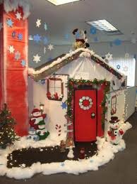 Christmas Door Decorations Ideas For The Office 166 Best Cubicle Christmas Office Decorating Contest Images On