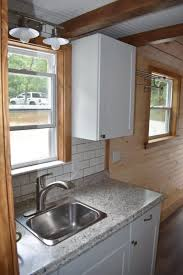 Heritage Cabinets Mountain Lake Tiny Homes Custom Thow Builders Offer Heritage Model