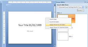 insert slides from another presentation slide import slides