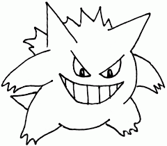 pokemon coloring pages gengar coloring pages coloring