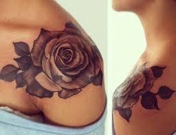 flower women tattoos on black people design idea for men and women