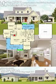 home plans with detached garage plan 28919jj country farmhouse plan with detached garage