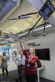 inside amazon u0027s secret drone lab uas vision