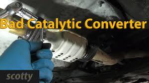 nissan murano catalytic converter recall replacing a bad catalytic converter yourself youtube