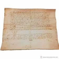 imagenes goticas letras manuscrito de pergamino año 1 421 letras gotica comprar