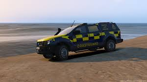 Ford Ranger Design Hm Coastguard Skin For Ford Ranger Gta5 Mods Com