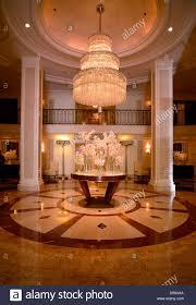 Wilshire Chandelier Indoor Photograph Lobby Beverly Wilshire Four Season U0027s Hotel