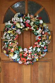 large wreath made with all vintage by shescrafty121 on