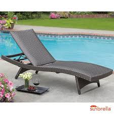 palm aire woven padded chaise lounge daybeds loungers garden