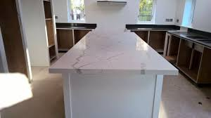 Worktop Overview Of The Full Kitchen Showing The Island And Worktops