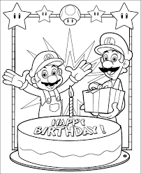 printable mario coloring pages mario bros free printables mario