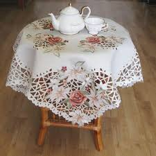 free simple embroidery designs modern tablecloth ideas