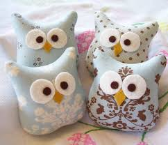 121 best softies owls images on cushions fabric
