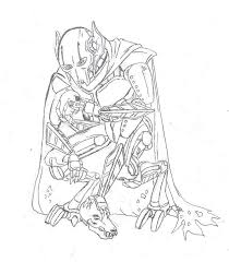general grievous coloring page lego general grievous coloring page