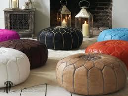 leather ottoman round pouf ottoman ikea vanity stool leather ottomans round with storage