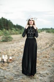 black wedding 30 of the most stunning black wedding dresses chic vintage brides