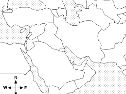 Middle East Geography Map by Middle East Map Quiz Geography Showme
