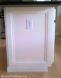 how to add molding to kitchen cabinets cabinet adding trim to kitchen island remodelando la casa adding