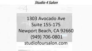 studio four salon reviews newport beach ca salons reviews youtube
