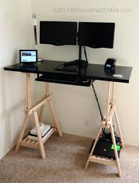 Adjustable Desk Shelf Shelves Standing Desk Computer Shelf Freestanding Desktop Shelf