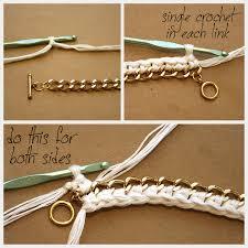crochet bracelet diy images Diy crochet bracelet jpg