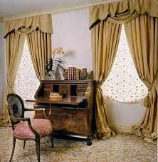 elegant caned chairs in home office traditional with t shape next