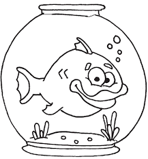fish in aquarium coloring pages for kids cbz printable fish