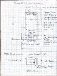 Block House Plans by Masonry Block House Plans House Plans