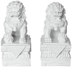foo dog sculpture feng shui classical protection symbol fu dogs